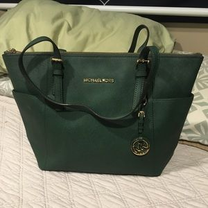 Michael Kors handbag green